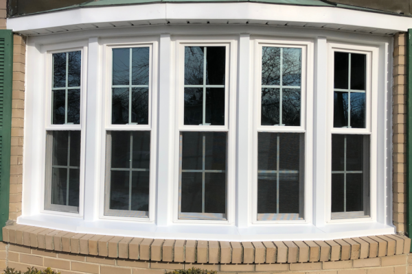 Double Hung Windows in Sun Room