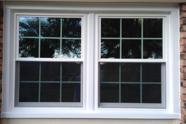 Double Hung Window With Grids