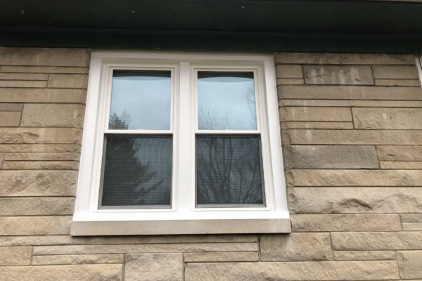 Set of Double Hung Windows