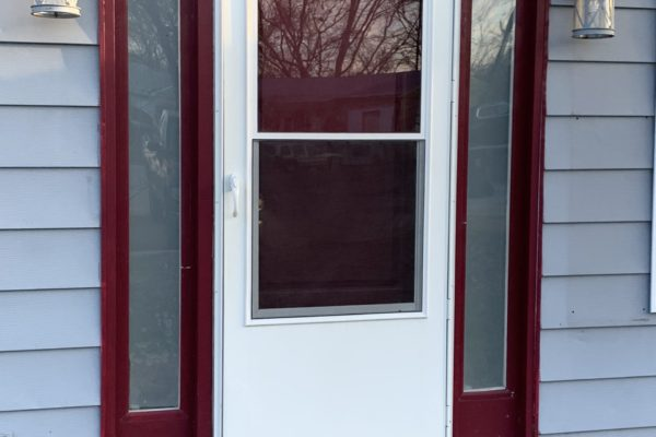 Old Entry Door with Side Lites