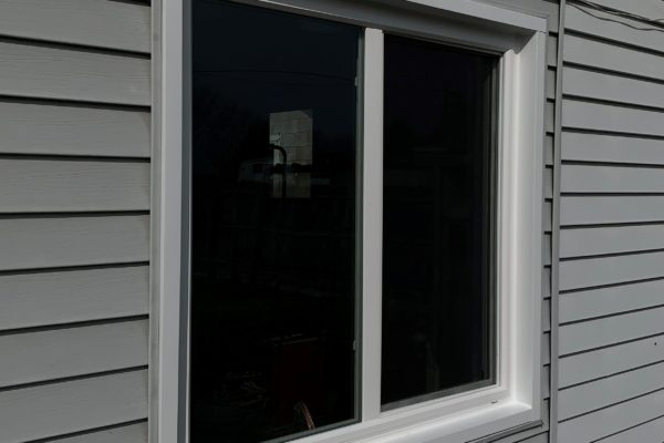 Vinyl Double Sliding Window